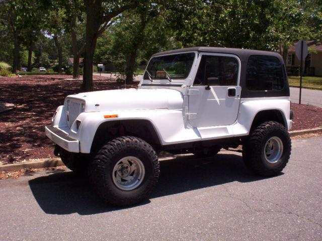 1991 Jeep Wrangler Renegade Lifted