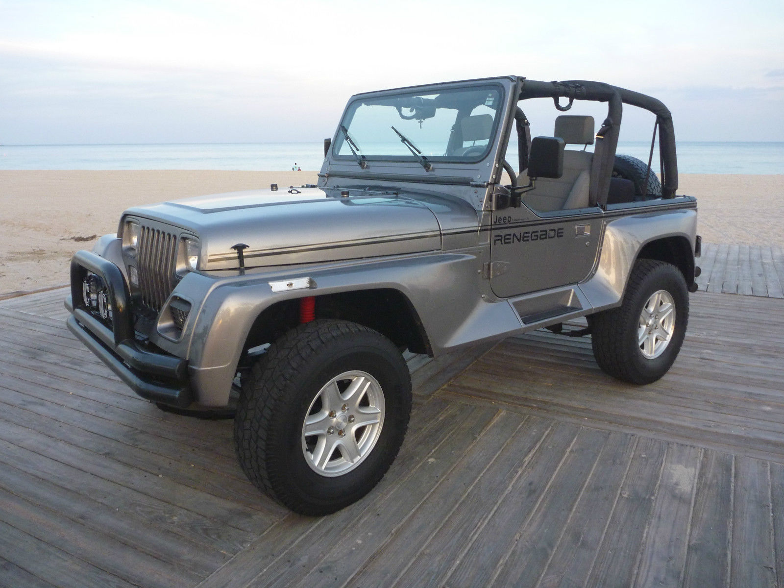 1991 jeep wrangler renegade very rare for sale in fort. Black Bedroom Furniture Sets. Home Design Ideas