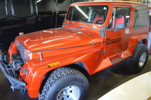 1991 Jeep Wrangler Renegade With Hard Top Fully Restored ...