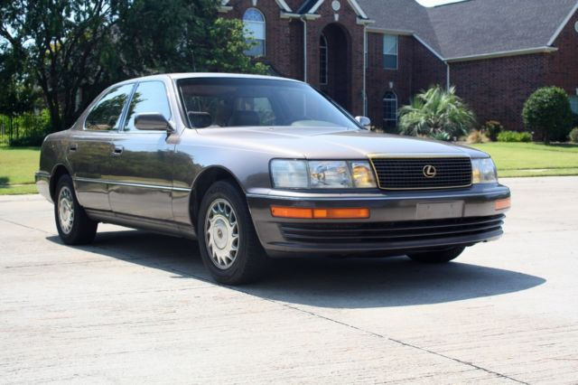 1991 lexus ls 400 immaculate condition rare color no rust 50 states smog. Black Bedroom Furniture Sets. Home Design Ideas