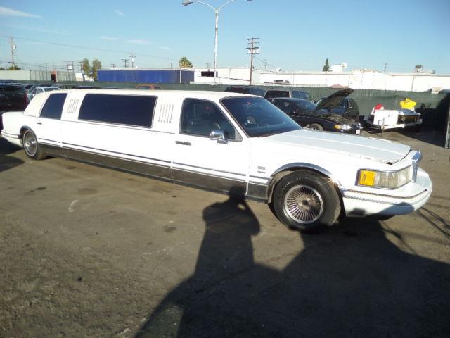 1991 Lincoln Town Car Executive Limousine 4 Door 4 6l No Reserve