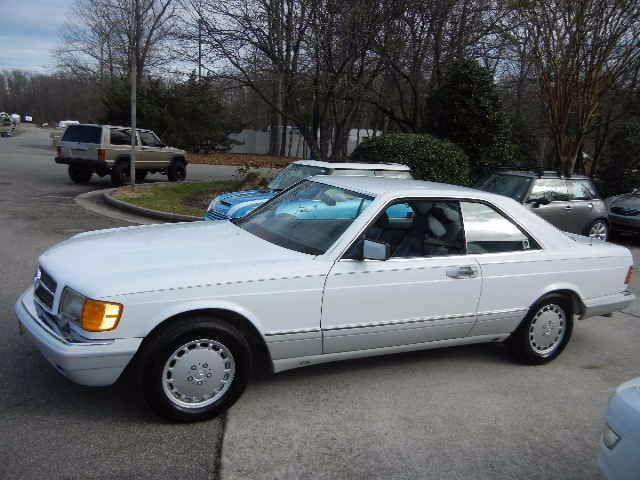1991 mercedes benz 560 sec coupe177 752 miles arctic white for Mercedes benz midlothian va