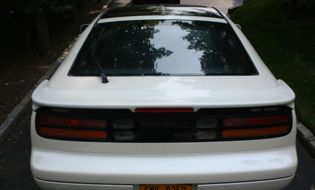 1991 Nissan 300zx Twin Turbo Tt Pearl White T Tops Excellent In Out
