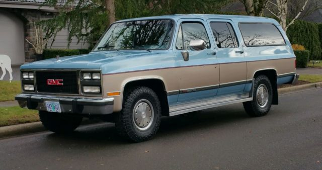 1991 suburban 2500 diesel 48 000 original miles 2wd. Black Bedroom Furniture Sets. Home Design Ideas