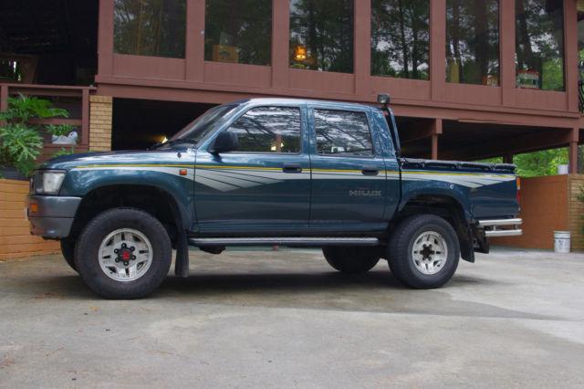 Toyota Hilux Diesel Truck >> 1991 Toyota Hilux Landcruiser Double Cab Diesel Truck