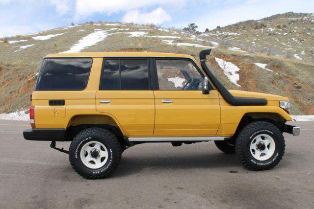 Used Mud Tires For Sale >> 1991 Toyota HZJ77 Land Cruiser HZJ73 fj60 fj62 HJ61 HDJ81 ...