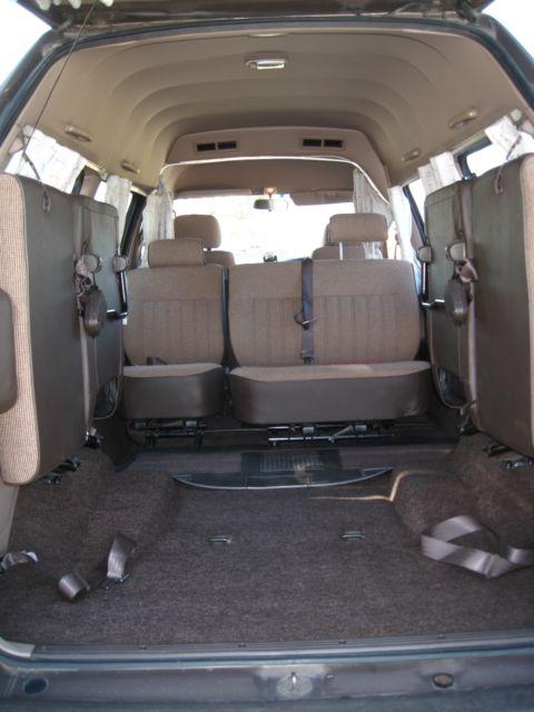 1991 Toyota Townace Camper 4wd Turbo Diesel Van Wagon