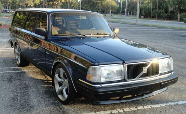 1991 Volvo 240 Station Estate Wagon Sharp Nice Shape 23L