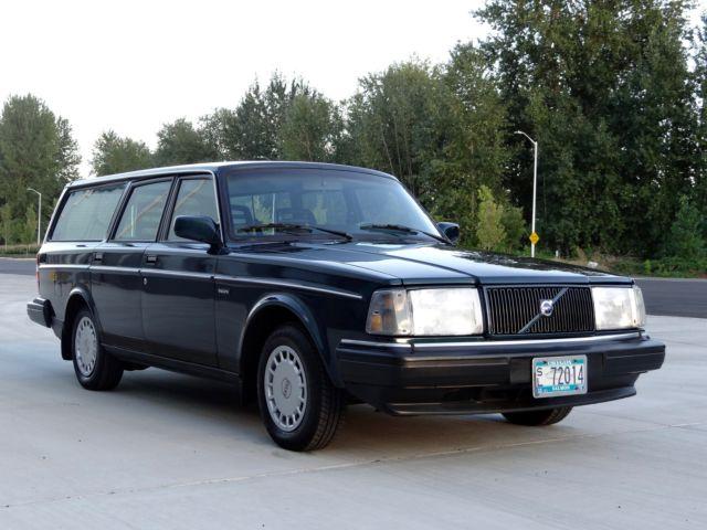 1991 Volvo 240 Base Wagon 4-Door 2.3L for sale: photos ...   1991 Volvo 240 Wagon
