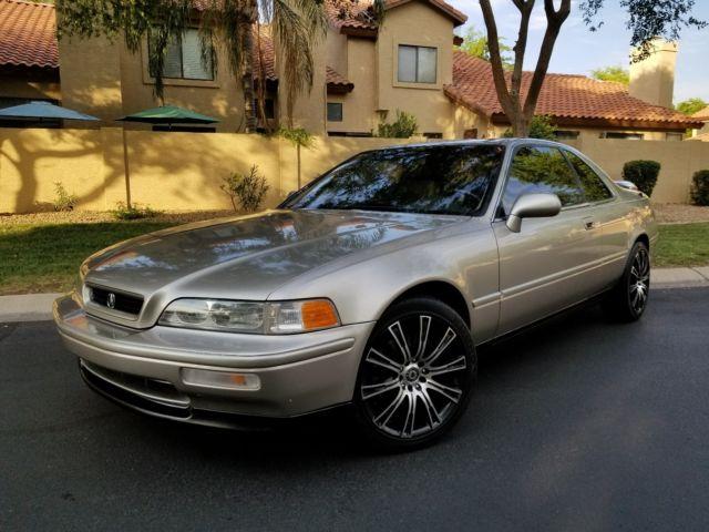 1992 Acura Legend LS Coupe Excellent Condition Auto Cold AC Leather