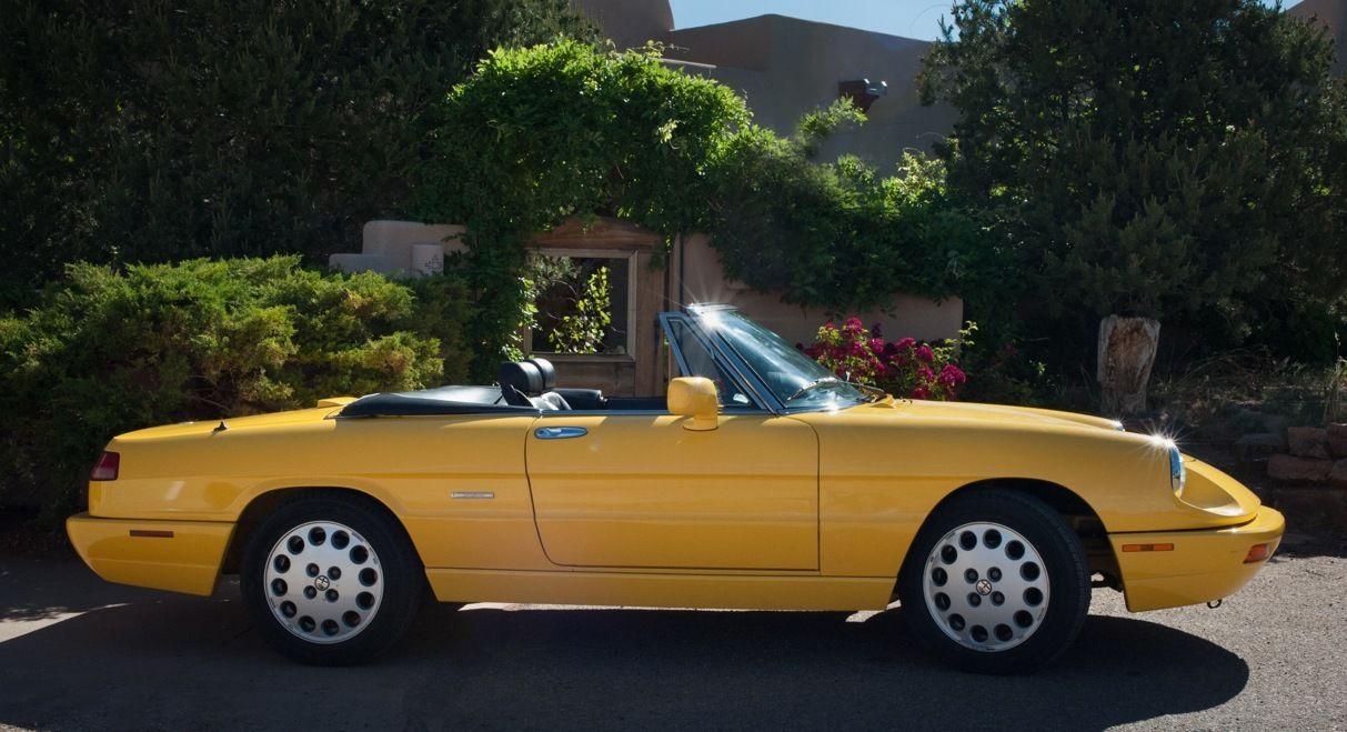 ALFA ROMEO SPIDER VELOCE Miles Yellow Mint Fiat - 1993 alfa romeo spider for sale