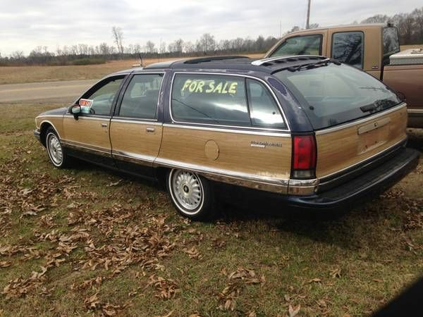 1992 buick roadmaster estate wagon wagon 4 door 5 7l. Black Bedroom Furniture Sets. Home Design Ideas