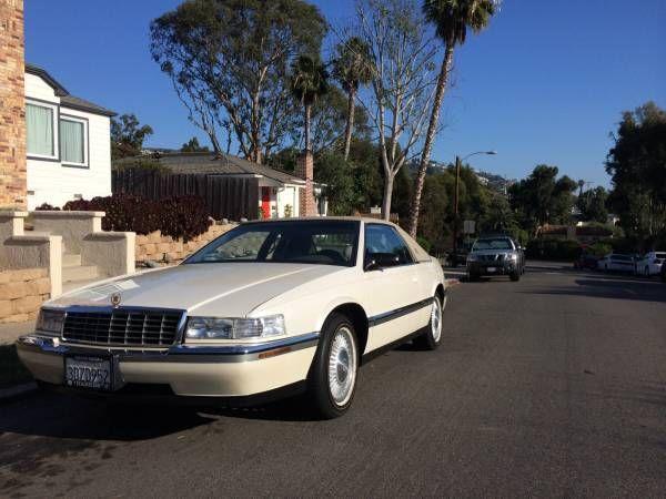 1992 cadillac eldorado touring coupe 2 door 4 9l classicvehicleslist com