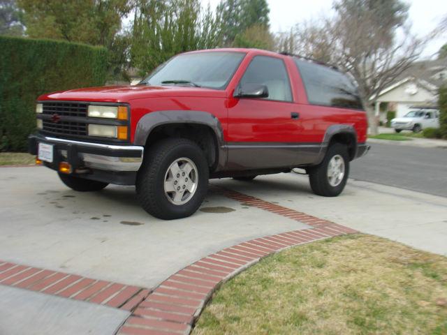 1992 chevrolet blazer 2 door 1993 1994 1995 1996 1997 1998 tahoe classicvehicleslist com