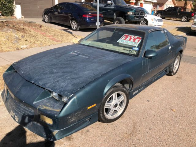1992 chevy camaro rs 25th anniversary project car 65k not. Black Bedroom Furniture Sets. Home Design Ideas