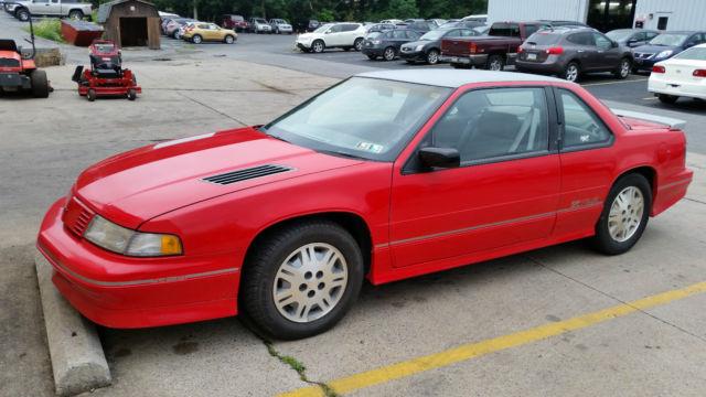 1992 Chevy Lumina Z34 Red