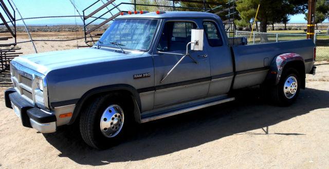 Dodge D Diesel Dually Truck on Dodge Ram 3500 Air Bags