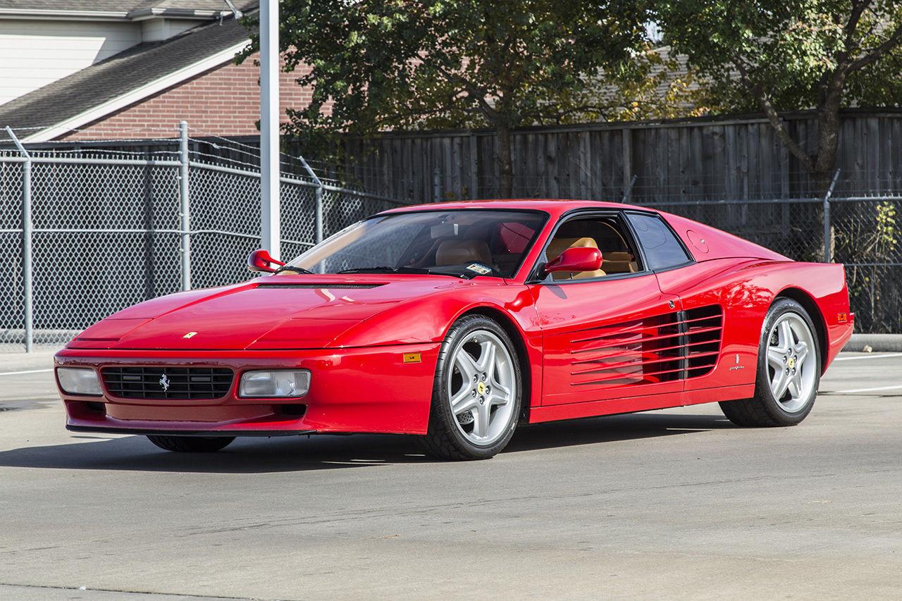 1992 Ferrari 512tr Testarossa 512 Tr Rosso Corsa Red Tan