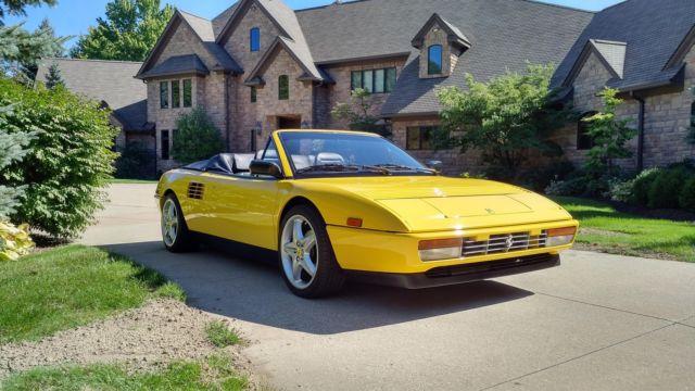 1992 ferrari mondial t cabriolet convertible 2 door 3 4l. Black Bedroom Furniture Sets. Home Design Ideas