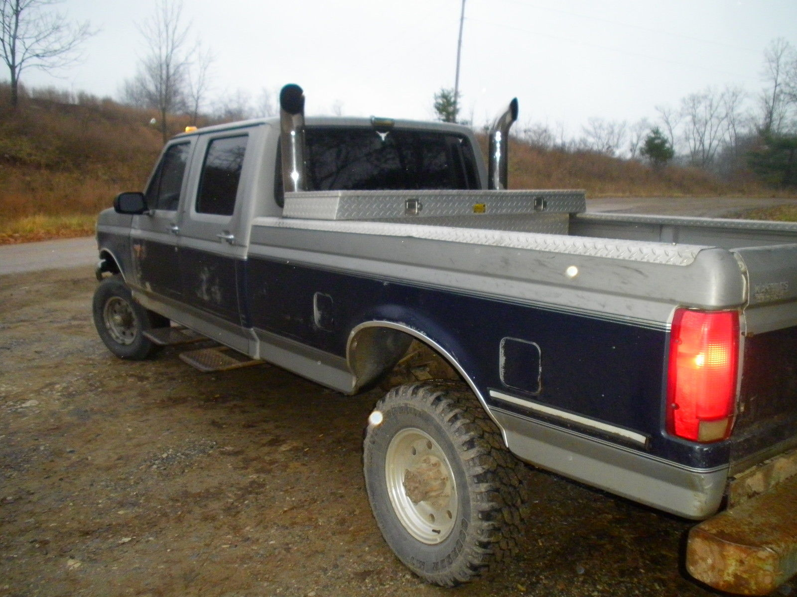 1992 ford f350 4x4 7 3 diesel crew cab automatic. Black Bedroom Furniture Sets. Home Design Ideas