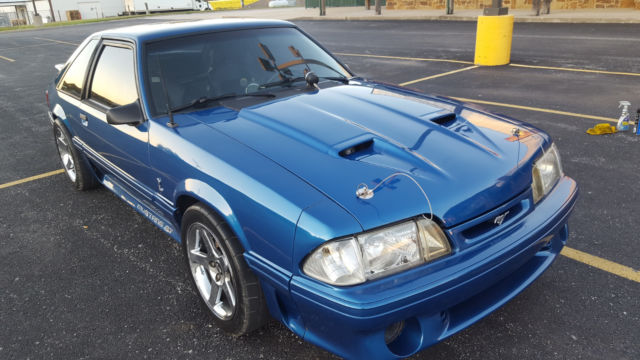 1992 Ford Mustang Gt Fox Body 347 Supercharged T56 6 Speed No
