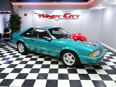1992 Ford Mustang LX 50 Hatchback 5 Speed Only 1 Adult Owner Since New Must See