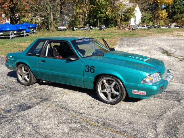 1992 Ford Mustang Road Race Car Street Legal Fox Coup