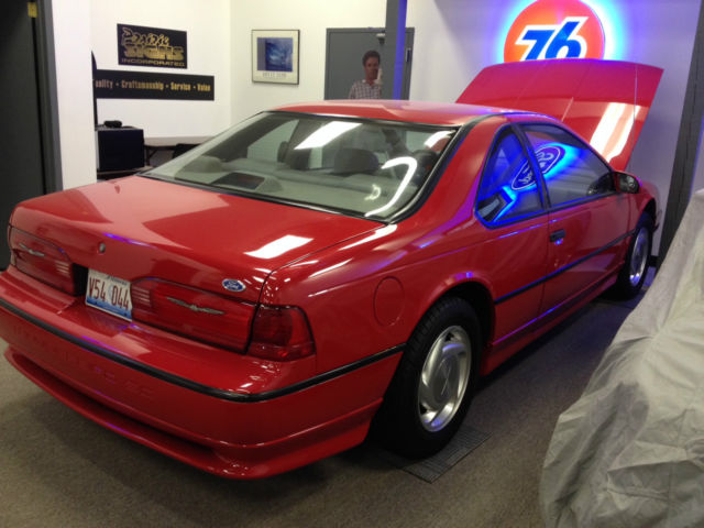 1992 Ford Thunderbird Super Coupe Coupe 2 Door 3 8l Showroom