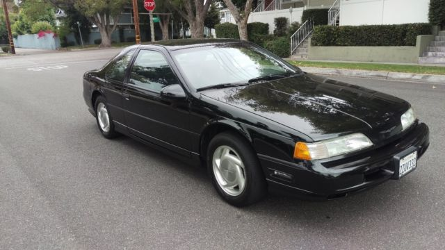 1992 Ford Thunderbird Super Coupe Sc Supercharged Thunder Bird