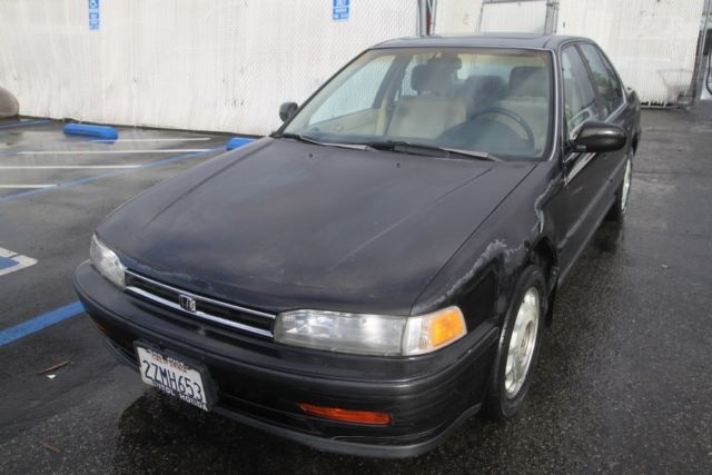1992 honda accord ex automatic 4 cylinder no reserve for Honda accord old model