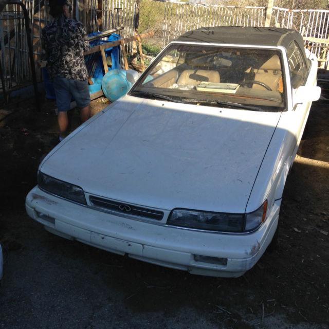 1992 INFINITY M30 Convertible California Car RARE