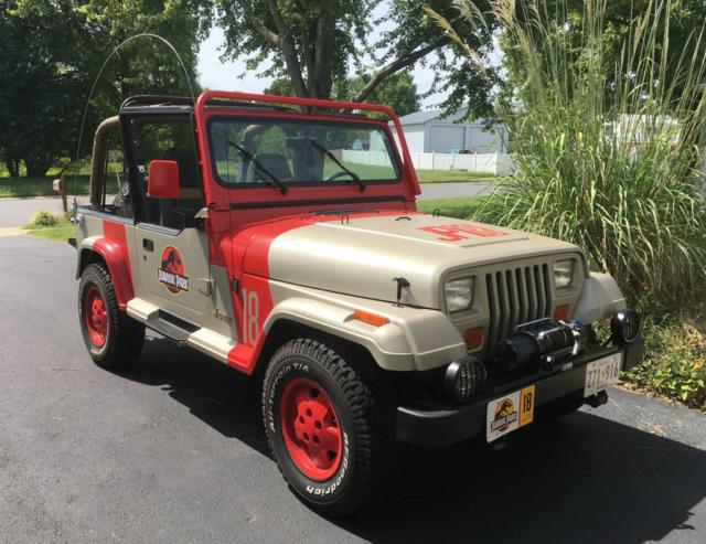 1992 Jeep Wrangler Sahara Jurassic Park