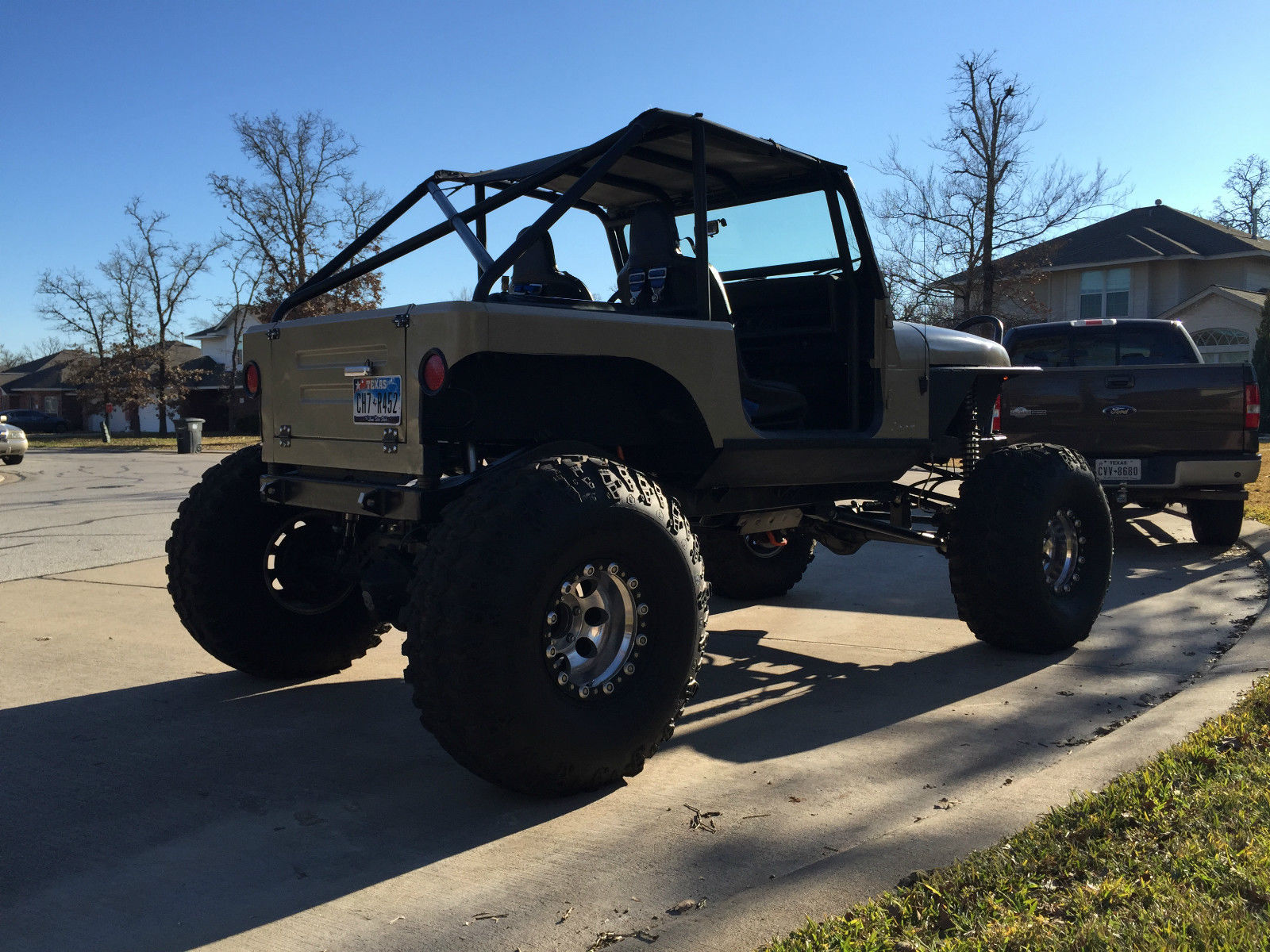 1992 Jeep Wrangler YJ Custom Rock Crawler Street Legal for sale in College Station, Texas ...