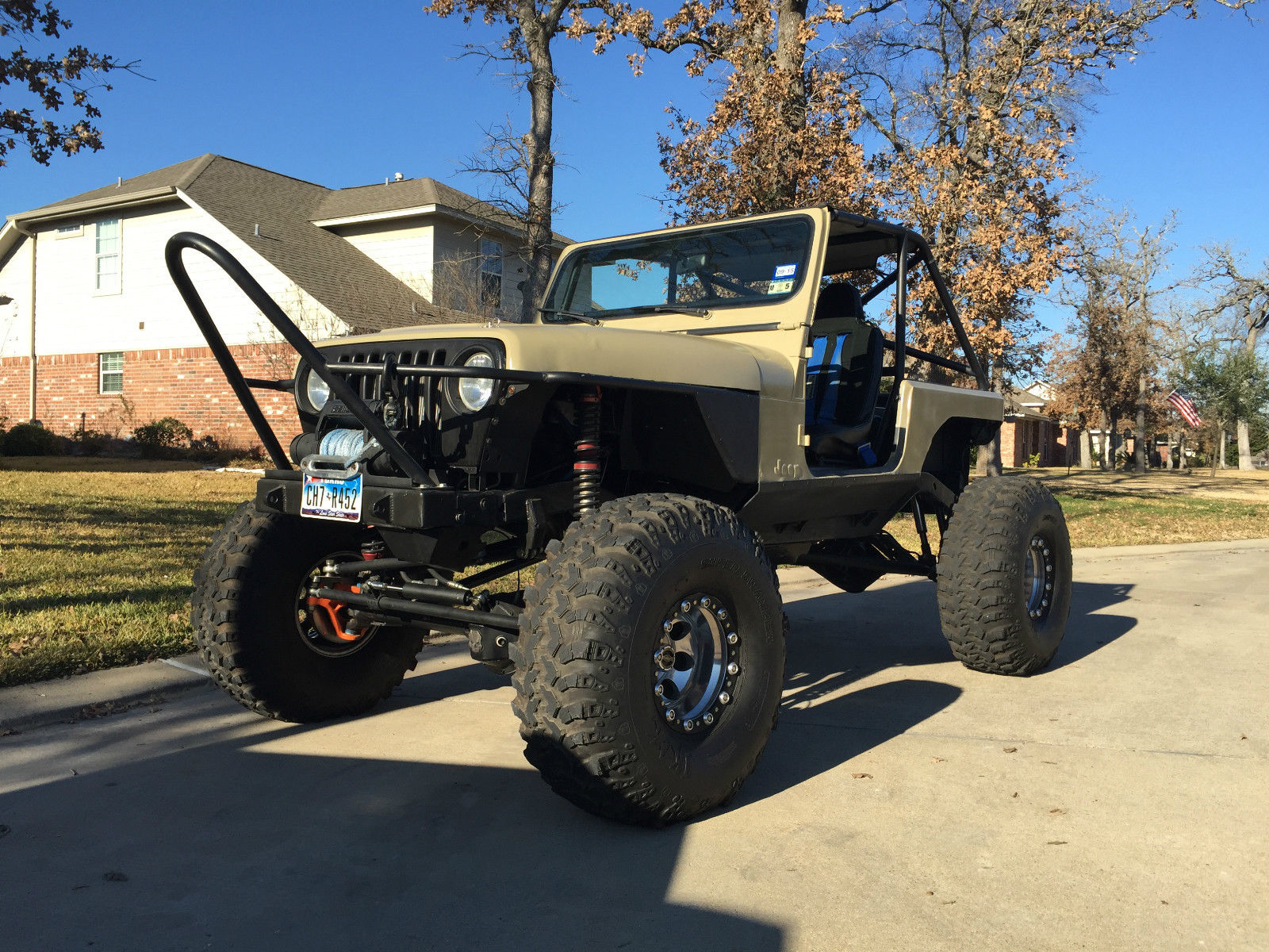 1992 Jeep Wrangler Yj Custom Rock Crawler Street Legal For Sale In Dash College Station Texas United States