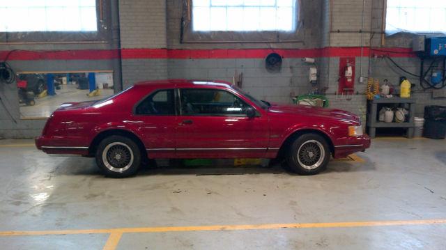 Lincoln Mark Vii Lsc Sedan Door L Special Edition Red Parts on 1992 Lincoln Mark Vii Lsc Engine