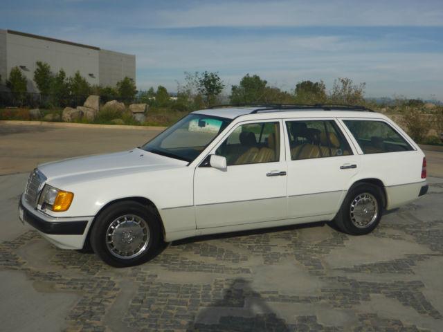 1992 mercedes benz 300te wagon e class 4 door 3 0l one for Mercedes benz california