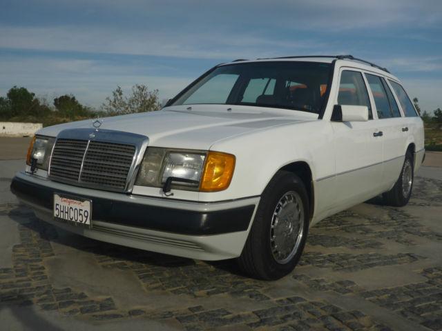 1992 mercedes benz 300te wagon e class 4 door 3 0l one owner california car. Black Bedroom Furniture Sets. Home Design Ideas