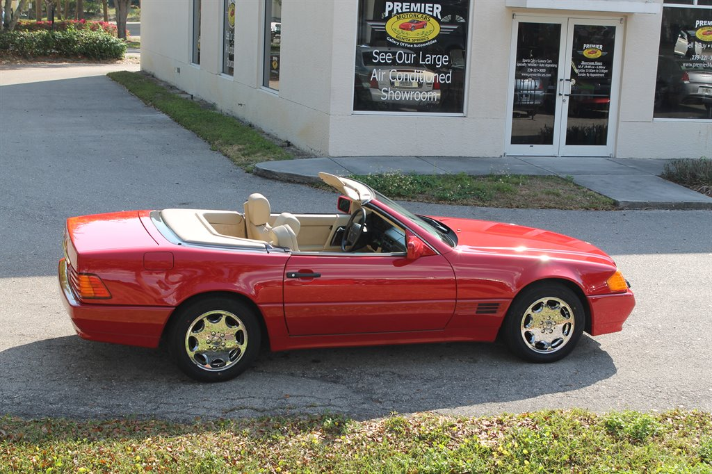 1992 mercedes benz 500sl 48 000 actual miles clean carfax for Mercedes benz bonita springs fl