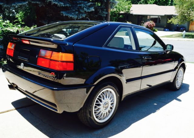 1992 volkswagen corrado slc vr6 very rare only 28 500 miles one owner stock. Black Bedroom Furniture Sets. Home Design Ideas
