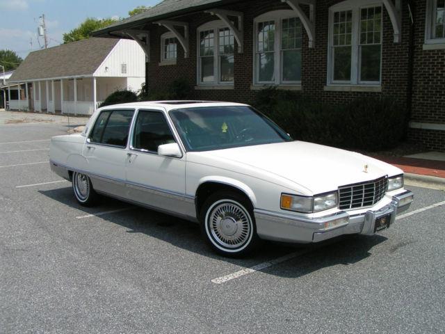 1993 93 cadillac sixty special 4 door sedan 4 9 l v8 nc. Black Bedroom Furniture Sets. Home Design Ideas