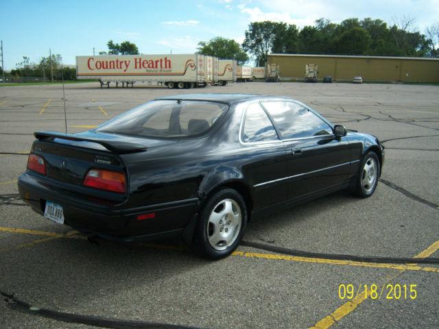 1993 Acura Legend Cope LS Black On 16 Oem Wheels 87 88 89 90 91 92 94 95