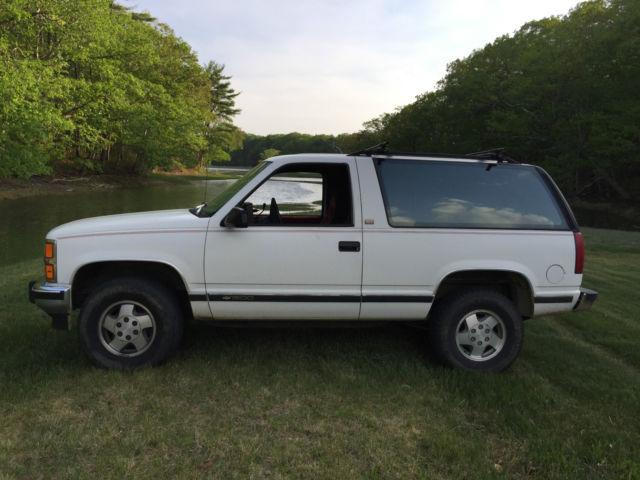 1993 Chevrolet Blazer Silverado Sport Utility 2 Door 57l Tahoe