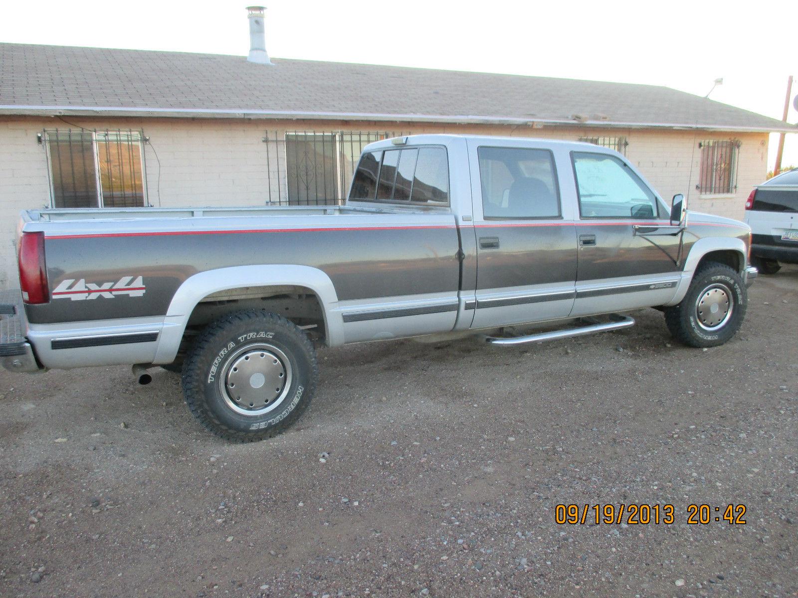 1993 Chevrolet Chevy Silverado 1 Ton Turbo Diesel 4 Door