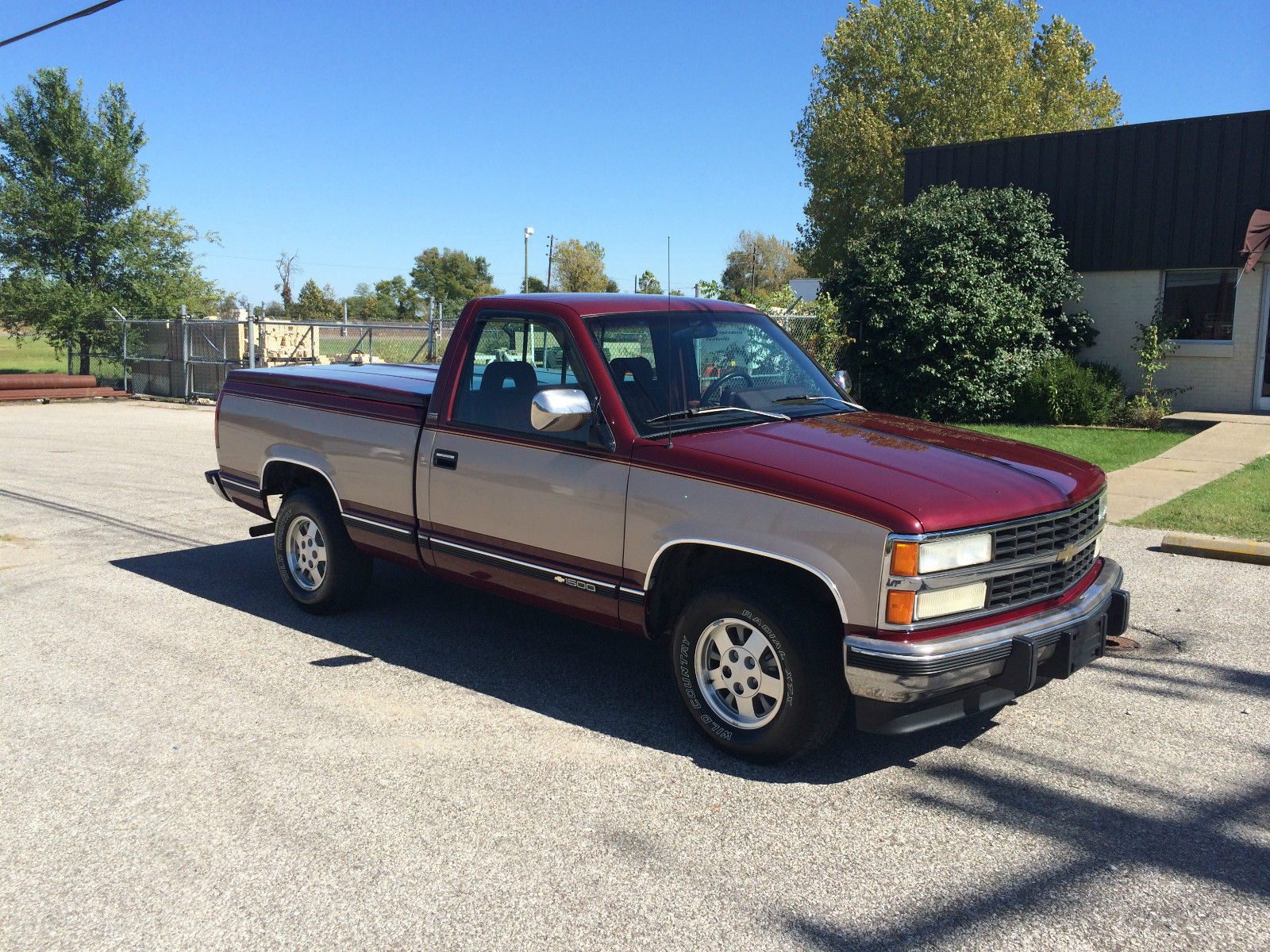 1993 chevrolet silverado v8 short bed street rod hot rod 1500 clean. Black Bedroom Furniture Sets. Home Design Ideas