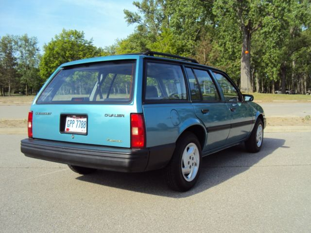 1993 CHEVY CAVALIER STATION WAGON, SUPER CLEAN, 54,251 ...