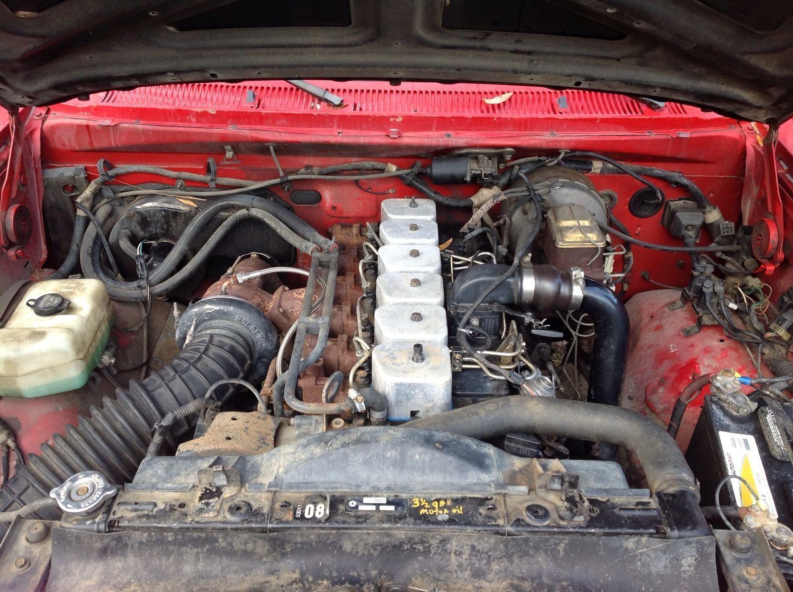 1993 Dodge Ram 12 Valve 5 9 Cummins Turbo Diesel 4x4 4wd