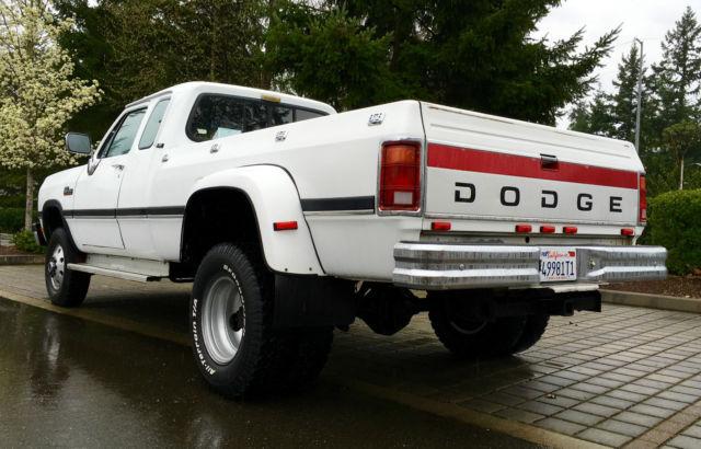 4 Wheel Diesel : Dodge ram d cummings diesel ton dually four