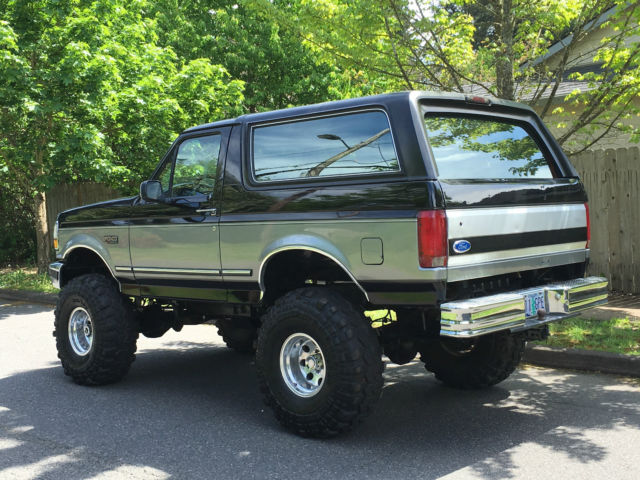 1993 Ford Bronco 4x4 Lifted 2dr 5 0l 302 V8 60k On Rebuilt