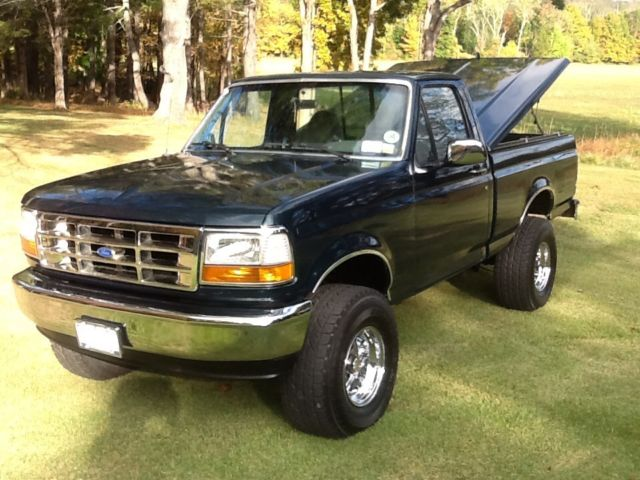 1993 ford f 150 xlt lariat styleside 4x4 swb v8 custom. Black Bedroom Furniture Sets. Home Design Ideas