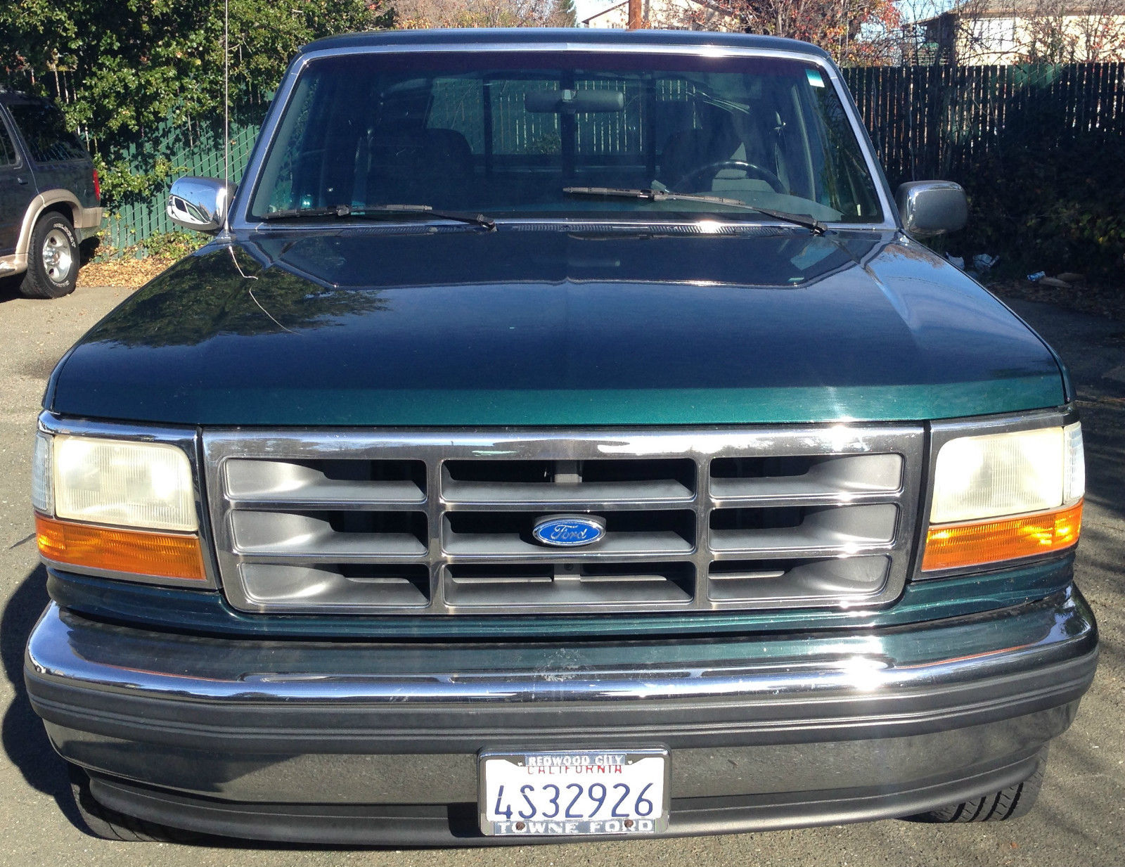 1993 Ford F-150 Xlt Regular Cab Pickup With Shell - One Owner